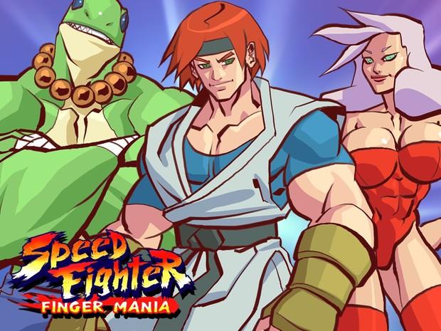Speed Fighter Finger Mania