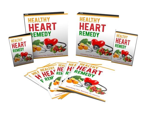 Box Healthy Heart Remedy - Unlocking The Secrets To Vitality in Audio, Video, Ebook