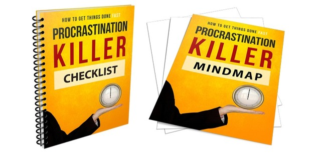 Ebook Procrastination Killer - How To Get Things Done Fast