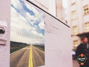 Street Art Billboard Mockup (PSD)