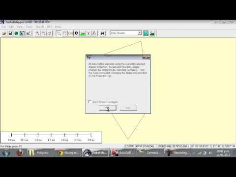 Convertir archivos de kmz o kml a dwg de google eart for Archivos de cad