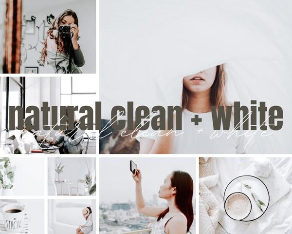 Natural Clean + White