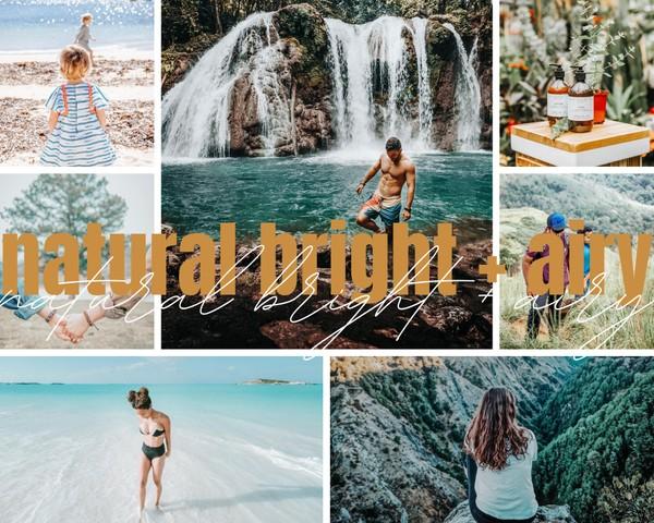 Natural Bright + Airy
