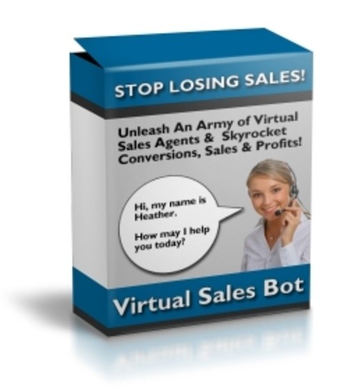 Virtual Sales Bot with Resale Rights