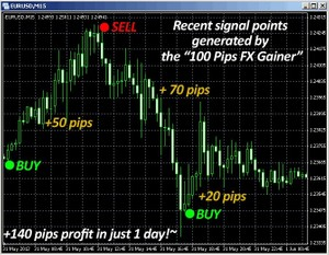 100 Pips Forex Gainer - 2012