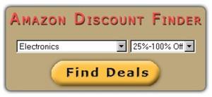 Amazon Discount Finder Software