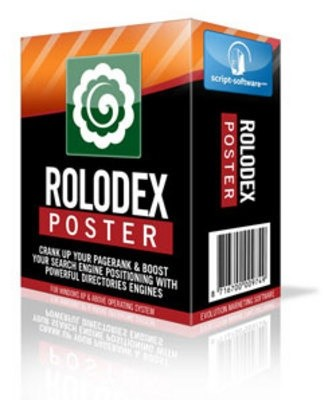 Rolodex Poster with Resell Rights