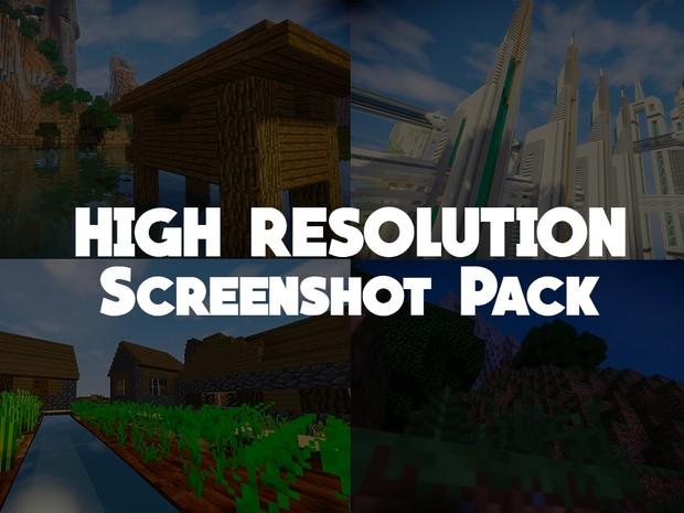 Venel & Reis [HIGH RESOLUTION, near 4K] Minecraft SCREENSHOT PACK