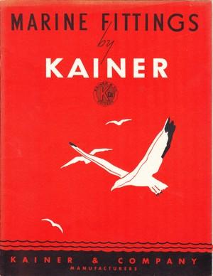 Kainer 1949 Marine Fittings Catalog
