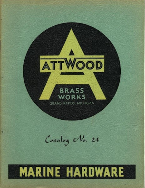1941 Attwood Brass Works Catalog