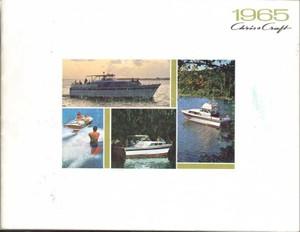 1965 Chris Craft Sales Catalog
