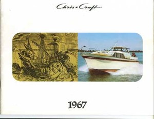 1967 Chris Craft Sales Catalog