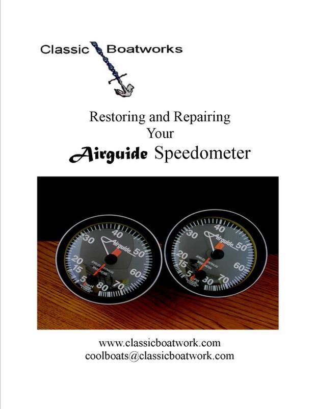 Restoring and Repairing Your Airguide Speedometer