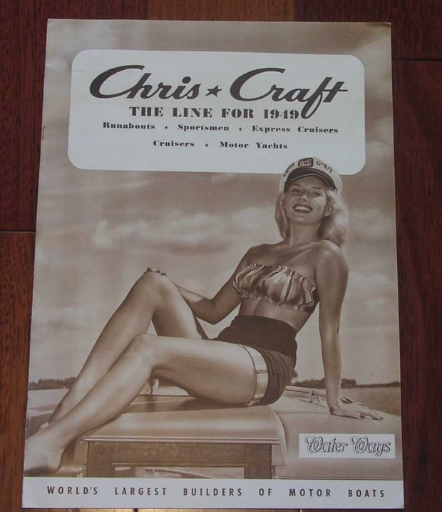 1949 Chris Craft Sale Catalog