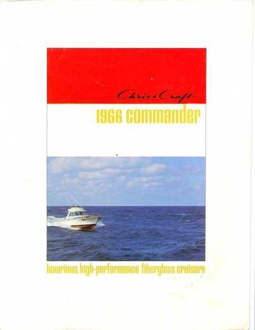 1966 Chris Craft Commander Catalog