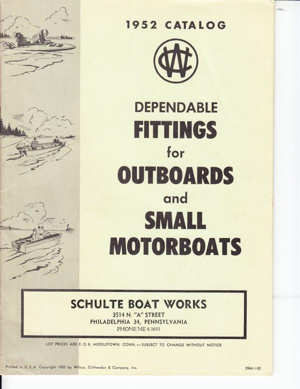 1952 Wilcox Crittenden Catalog
