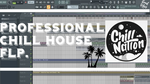 Professional Chill House FLP with Vocals (Chill Nation Style)