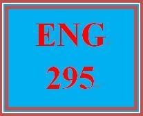 ENG 295 Week 5 Character Development