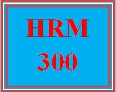 HRM 300 Week 4 HR Ethics Scenarios