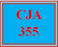CJA 355 Week 1 Program Evaluation Paper