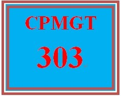 CPMGT 303 Week 2 Project Management Plan Proposal Presentation