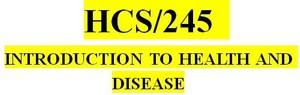 HCS 245 Week 4 Community Health Promotion Tool