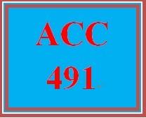 ACC 491 Week 3 Textbook Assignment - 1