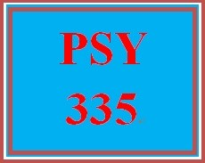 PSY 335 Week 3 Methods Paper