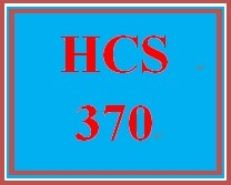 HCS 370 Week 4 Supporting Organizational Behavior