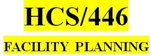 HCS 446 Week 1 Facility Planning – Facility Selection: Part 1