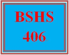 BSHS 406 Week 4 Transitions
