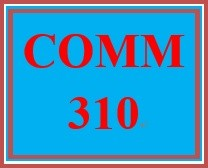 COMM 310 Week 4 Collaborative Self-Reflection