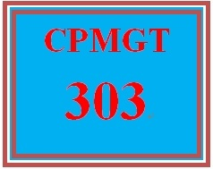 CPMGT 303 Week 1 Project Estimating Technique Paper
