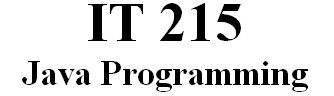 IT 215 Week 4 CheckPoint - Methods with Multiple Parameters