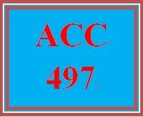 ACC 497 Week 5 FARS Case
