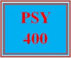 PSY 400 Week 3 Cognitive Dissonance Paper