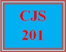 CJS 201 Entire Course