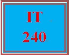 IT 240 Week 2 Individual Network Topologies