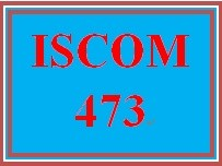 ISCOM 473 Week 1 Article Analysis