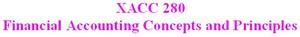 XACC 280 Week 9 Capstone DQ
