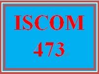 ISCOM 473 Week 5 eCommerce Process