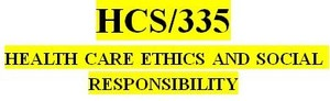 HCS 335 Week 2 Code of Ethics Paper