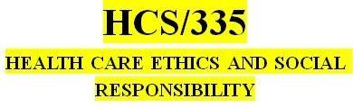 HCS 335 Week 2 Code of Ethics Paper