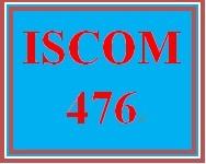 ISCOM 476 Week 5 Enterprise Resource Planning Effectiveness