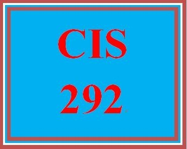 CIS 292 Week 5 Individual Operating System Portfolio – Information Security Business Proposal Final