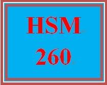 HSM 260 Week 1 Definition Scavenger Hunt