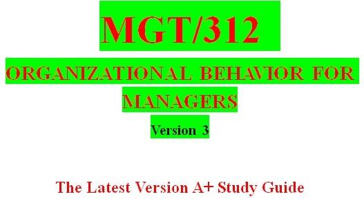 MGT 312 Week 2 Big Five Personality Types