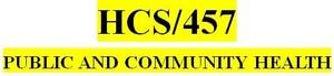 HCS 457 Week 4 Communicable Disease Paper