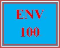 ENV 100 Entire Course