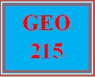 GEO 215 Week 5 Urbanization Analysis, Green Options & Global Warming Strategies Part 2